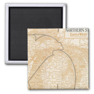 Northern Steamship Company map Magnet