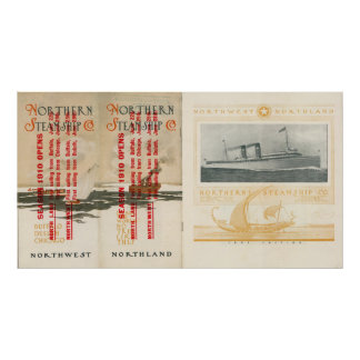 Northern Steamship Company Poster