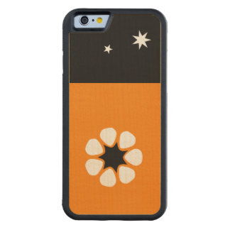 Northern Territory Flag Carved® Maple iPhone 6 Bumper Case