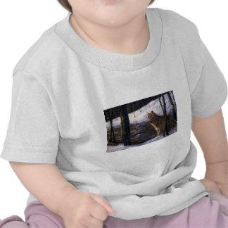 Northern Timber Wolf T-shirts