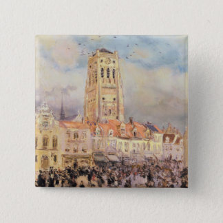 Northern Town 15 Cm Square Badge