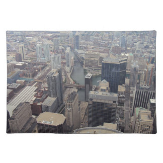 Northern View Of Chicago From Sears Tower Placemats