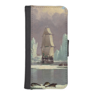 "Northern Whale Fishery: ""Swan"" & ""Isabella"" iPhone SE/5/5s Wallet Case"