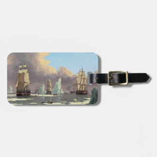 """Northern Whale Fishery: """"Swan"""" & """"Isabella"""" Luggage Tag"""