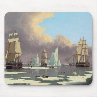 """Northern Whale Fishery: """"Swan"""" & """"Isabella"""" Mouse Mat"""
