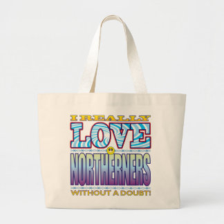 Northerners Love Face Jumbo Tote Bag