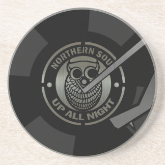 NorthernSoul vinyl on turntable Coaster