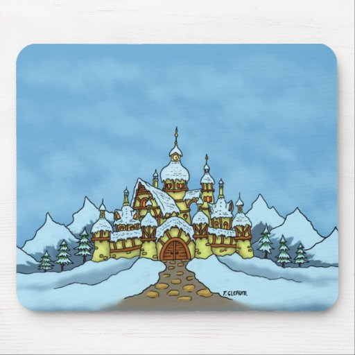 northpole holiday winter mouse pads