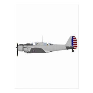 Northrop A-17A Nomad 398398 Postcard