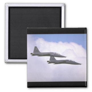 Northrop T-38A Talon, U.S_Aviation Photography II Square Magnet