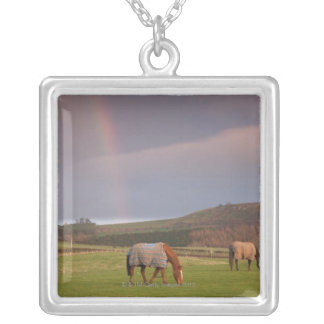 Northumberland, England Silver Plated Necklace