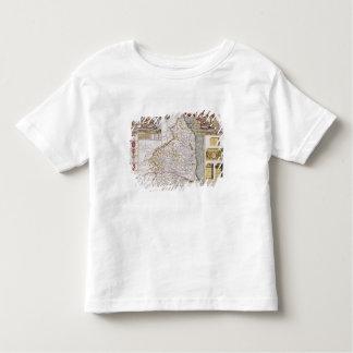 Northumberland, engraved by Jodocus Hondius Tee Shirt