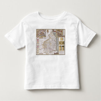 Northumberland, engraved by Jodocus Hondius Toddler T-Shirt
