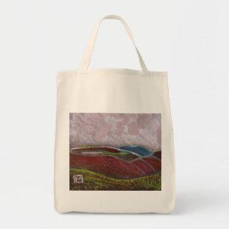 Northumberland landscape tote bag