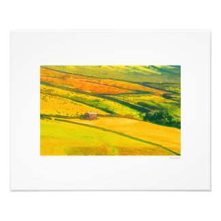 "Northumberland Quilt 20""x16"" Photo Print"