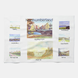 Northumberland Tea Towel