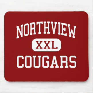 Northview - Cougars - High School - Dothan Alabama Mouse Mats