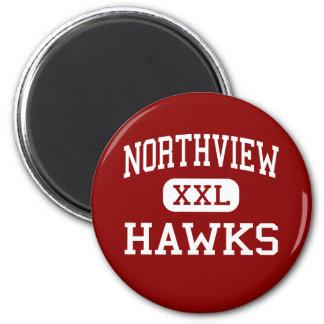 Northview - Hawks - Middle School - Ankeny Iowa 6 Cm Round Magnet