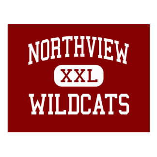 Northview - Wildcats - High - Grand Rapids Postcard