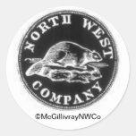 NorthWest Coin Round Sticker