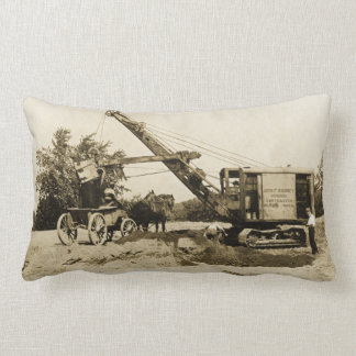 Northwest Construction Crane Operator Early Image Lumbar Cushion
