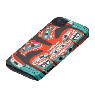 Northwest Eagle Pattern from our Drum 4/4S iPhone 4 Case-Mate Case