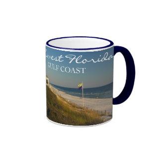Northwest Florida Gulf Coast Ringer Coffee Mug