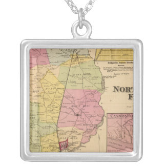 Northwest Fork Silver Plated Necklace