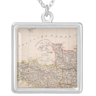 Northwest France Silver Plated Necklace