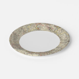 Northwest German Empire 7 Inch Paper Plate