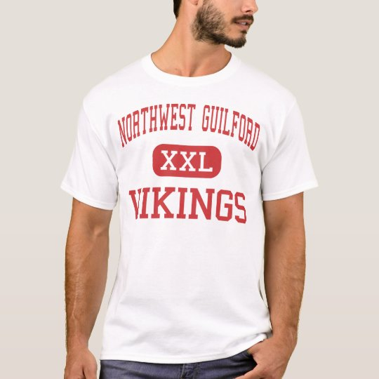 Northwest Guilford - Vikings - High - Greensboro T-Shirt