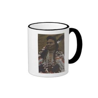 Northwest Indians - Chief Joseph of the Nez Coffee Mug
