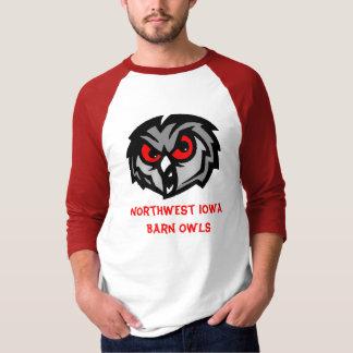 Northwest Iowa Barn Owls shirt