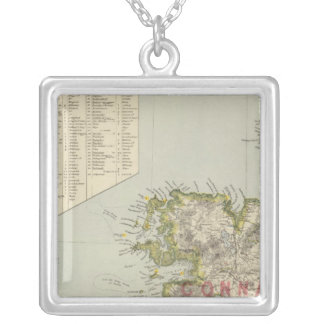 Northwest Ireland Silver Plated Necklace