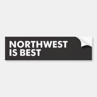 Northwest is Best Bumper Sticker