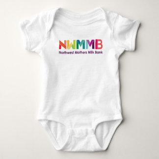 Northwest Mothers Milk Bank Colorful Logo Baby Tee