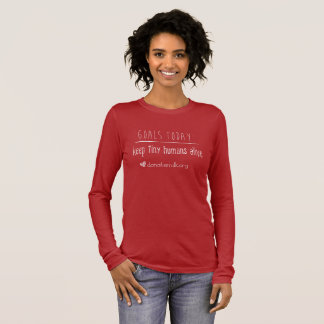 Northwest Mothers Milk Bank Goals Today Tee