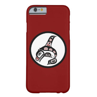 Northwest Pacific coast Haida art Killer whale Barely There iPhone 6 Case