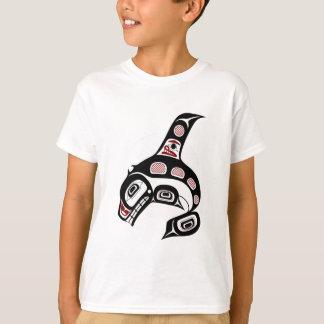 Northwest Pacific coast Haida art Killer whale Tshirts