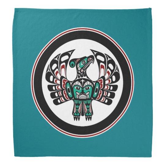 Northwest Pacific coast Haida art Thunderbird Bandana