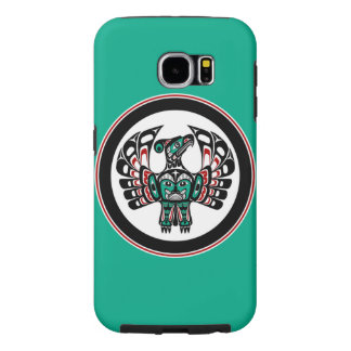 Northwest Pacific coast Haida art Thunderbird Samsung Galaxy S6 Cases