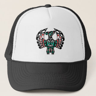 Northwest Pacific coast Haida art Thunderbird Trucker Hat