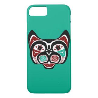 Northwest Pacific coast Haida Kitty iPhone 7 Case