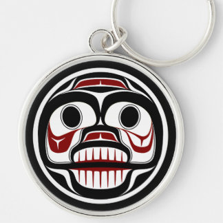Northwest Pacific coast Haida Weeping skull Key Ring