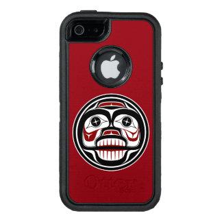 Northwest Pacific coast Haida Weeping skull OtterBox iPhone 5/5s/SE Case