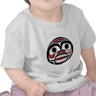 Northwest Pacific coast Haida Weeping skull Tshirt
