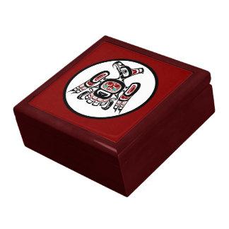Northwest Pacific coast Kaigani Thunderbird Large Square Gift Box