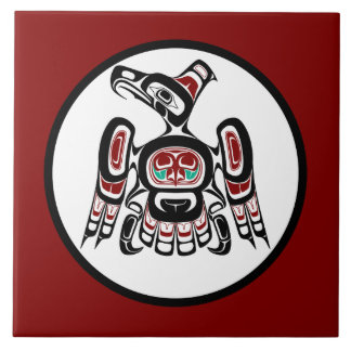 Northwest Pacific coast Kaigani Thunderbird Tile