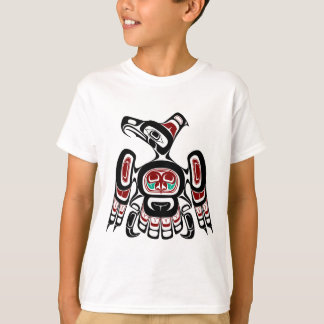 Northwest Pacific coast Kaigani Thunderbird Tshirt