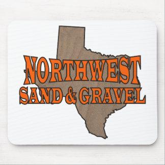 NorthWest Sand & Gravel: Formal Logo Mousepad